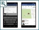 """Facebook """"Freunde in der Nähe""""-Funktion"""