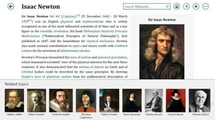 Bing Wikipedia Browser