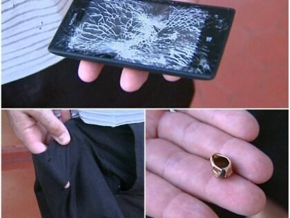 Lumia 520 stoppt Kugel