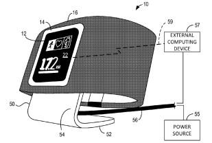 Microsoft Smartwatch Patent