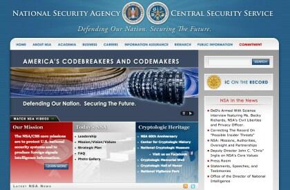 NSA Homepage