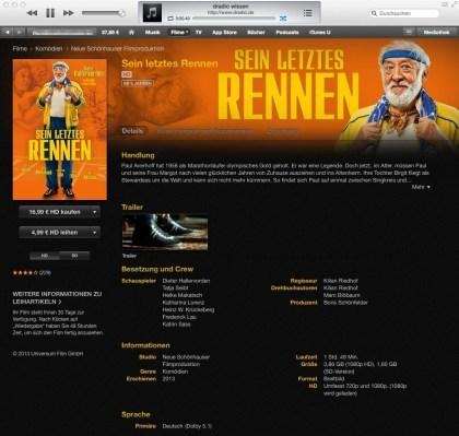 iTunes 1080p