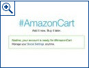 Amazon shoppen mit Twitter