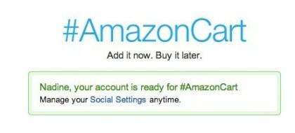 Amazon shoppen mit Twitter