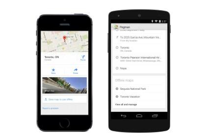 Google Maps: Update Mai 2014