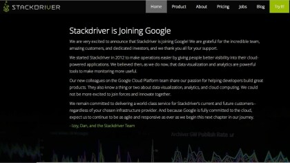 Google kauft Stackdriver