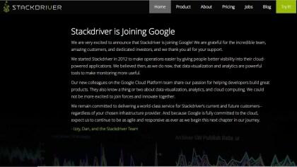 Google kauft Stackdriver