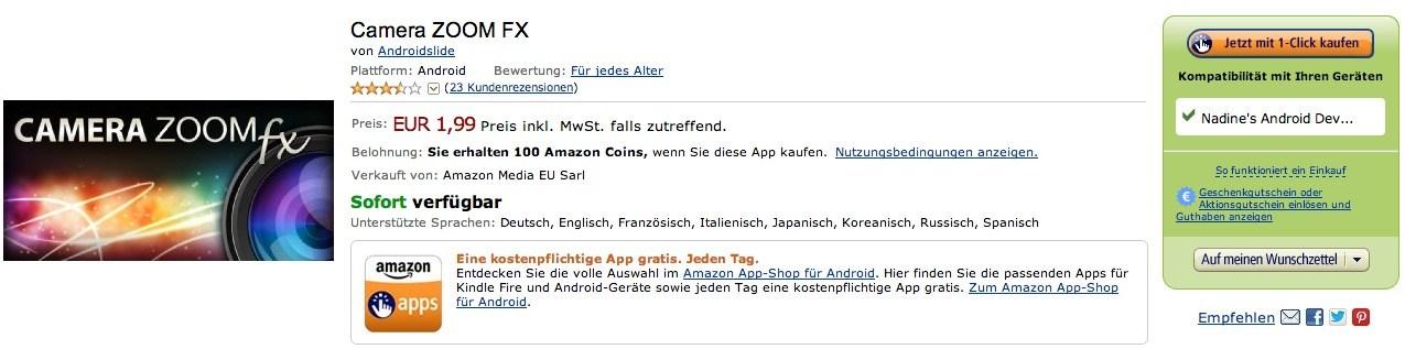 Amazon Foto-Aktion