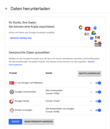 A new look on Google+
