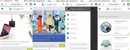 Google Play Web optimiert