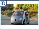 Selbstfahrendes Auto von Google