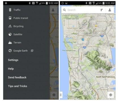 Google Maps bekommt Gelände-Ansicht zurück