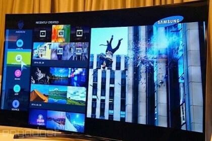 Samsung-TV mit Tizen OS