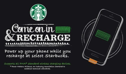 Starbucks Recharge Aktion