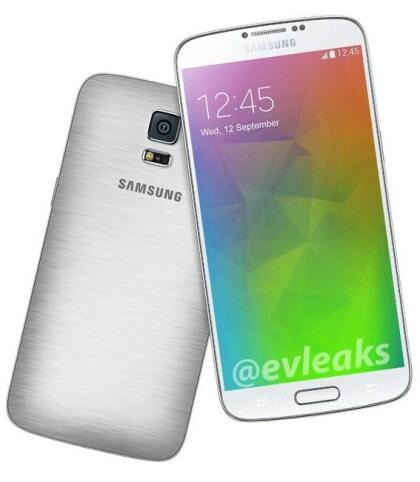Samsung Galaxy F (@evleaks)