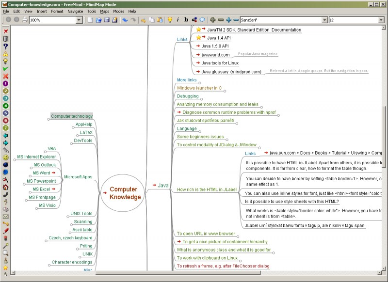 FreeMind - Kostenloses Mind-Mapping-Tool Download on