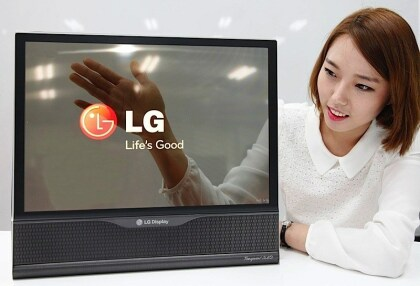 LG Display: Flexibles 18-Zoll-OLED-Panel