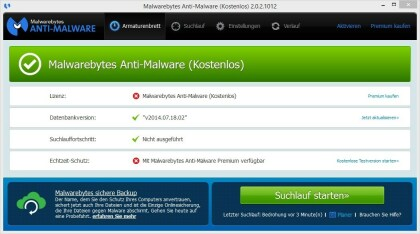 Malwarebytes Anti-Malware
