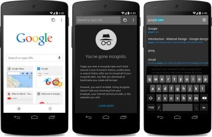 Chrome für Android (Beta)