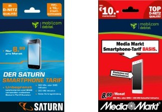 Prepaid-Traif von Media Markt & Saturn
