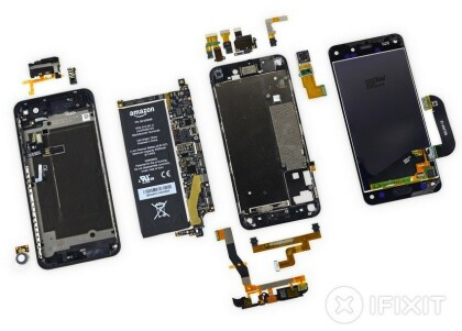 iFixit Amazon Fire Phone Teardown