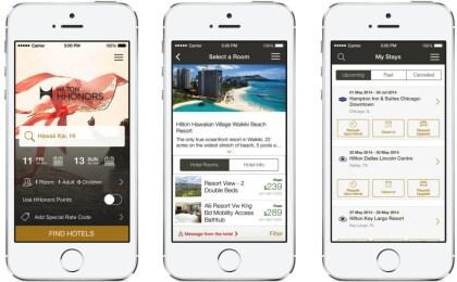 Hilton Smartphone-App