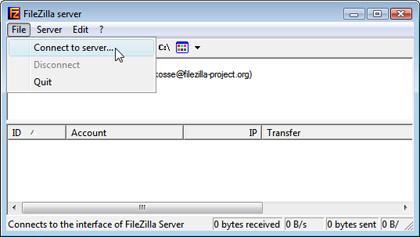 Open-Source-FTP-Server FileZilla Server