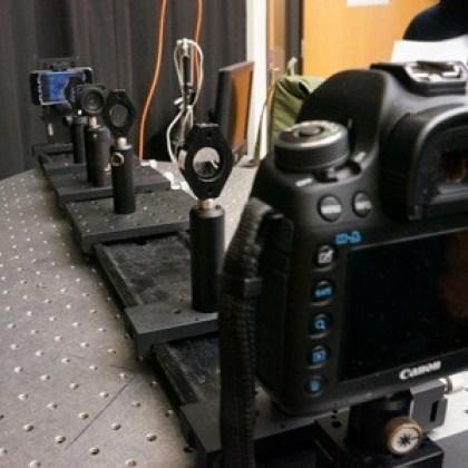 Display-Prototyp (Berkeley, MIT, Microsoft)