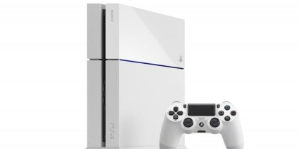 Playstation: PS4 in Glacier White