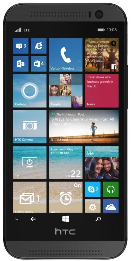 Insider-Geplapper: HTC arbeitet mit Microsoft an Windows 10 Phone