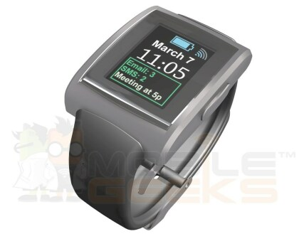 Pebble mit Farbdisplay