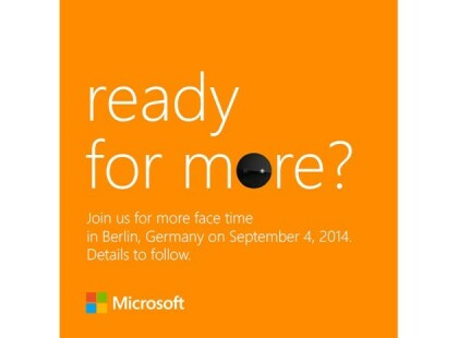 Nokia: Einladung zu Lumia-Event IFA 2014