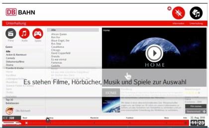 Deutsche Bahn ICE-Unterhaltungsprogramm