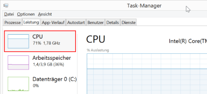 Windows CPU Takt �ndern