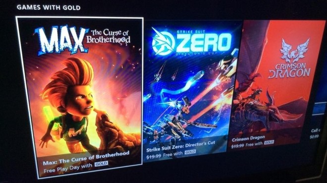 Xbox One: Free Play Day with Gold