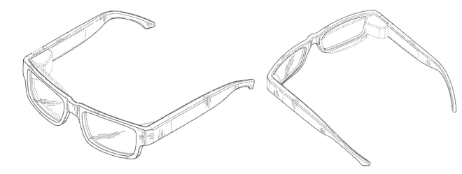 Google Glass Patent 2014