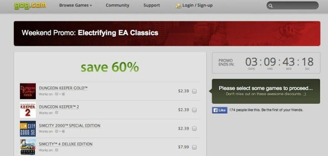 Electrifying EA Classics