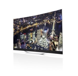 LG gekrümmte 4K-OLED-TVs