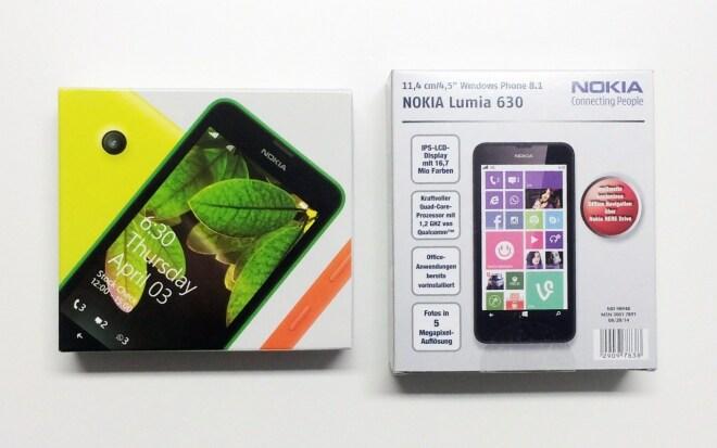 Nokia Lumia 630 bei ALDI