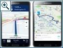 HERE für Android App für Samsung Galaxy