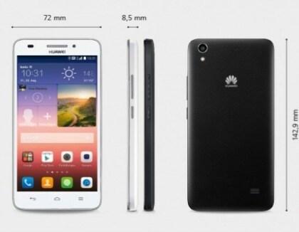 Huawei Ascend Y550 und G620s