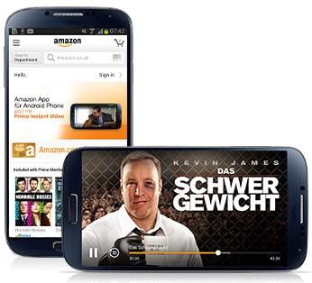 Amazon Instant Prime Video für Android