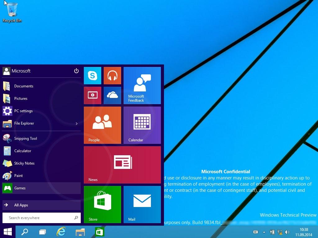 Windows 9: Insider-Tester sollen monatlich Neuerungen erproben