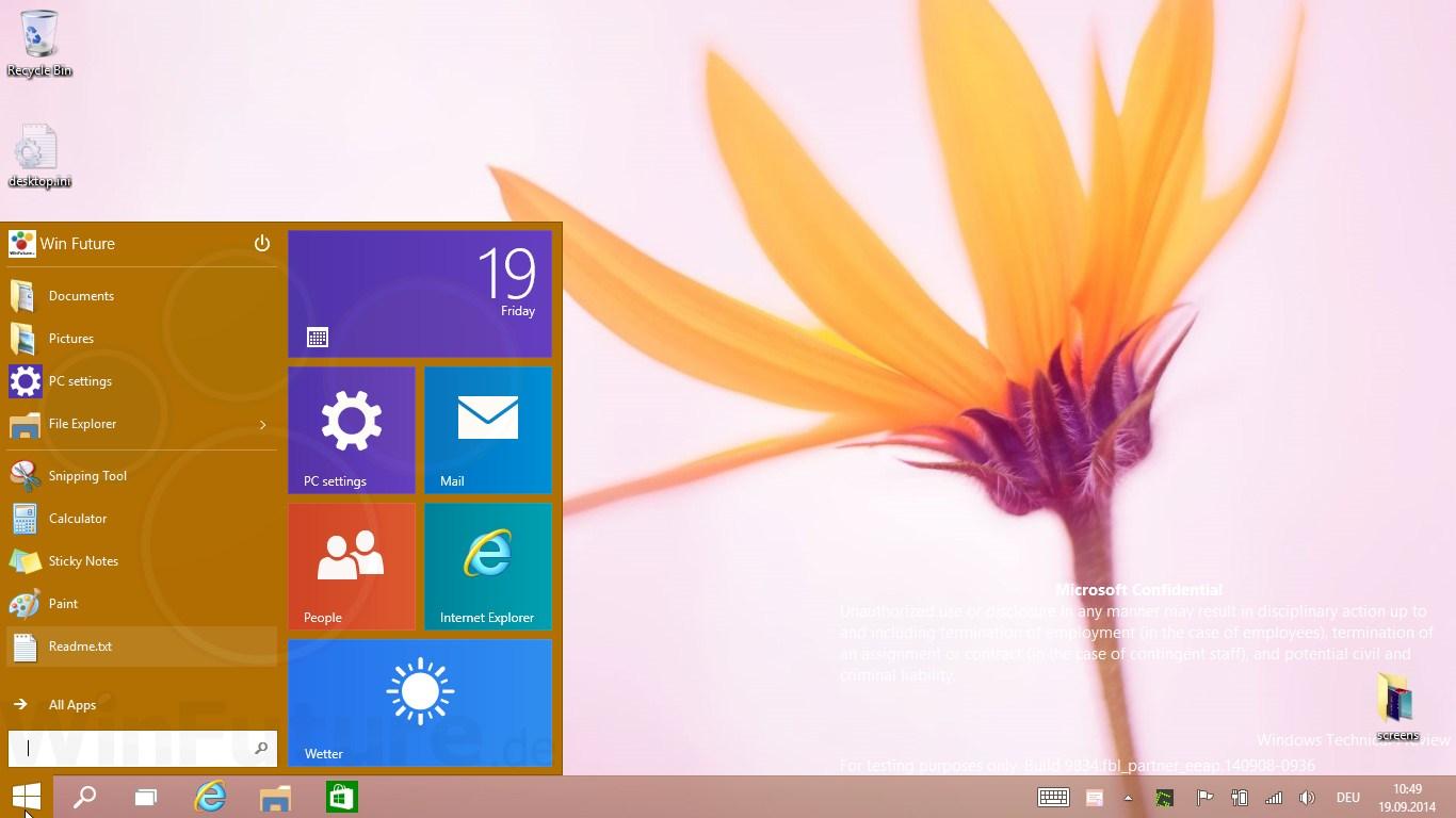 """Windows 9 Preview: Nutzerverhalten wird """"in Echtzeit"""" analysiert"""