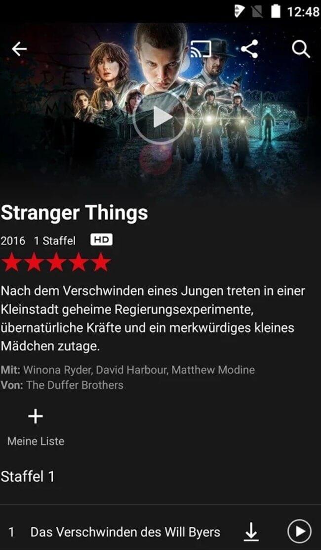 Netflix Auf Smartphone