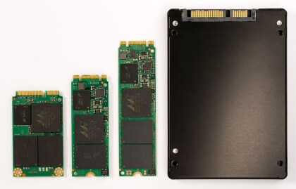 Microns M600-SSD-Serie