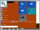 Windows 9: Startmen� in vier Farben