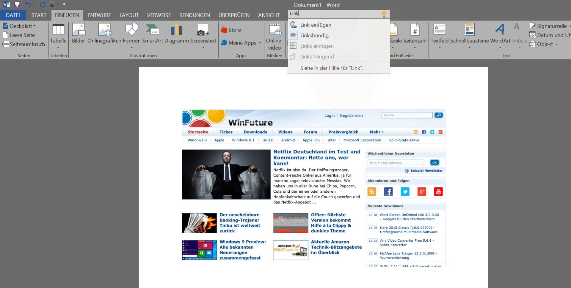 Office 2016: Desktop-Preview gab es frei zum Download (Update ...