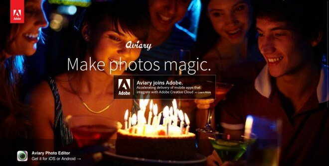 Adobe kauft Aviary