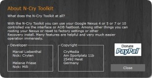N-Cry Toolkit
